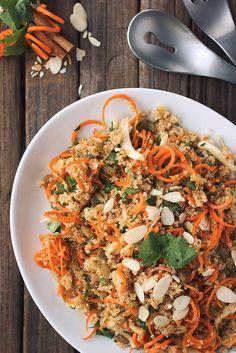 Moroccan Quinoa and Carrot Salad // @tastyyummies // www.tasty-yummies.com #passoverpotluck