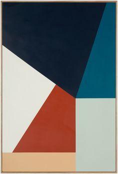 "peinture géométrique abstraite : Esther Stewart, ""I wanna fall in love"", 2013 Palette Pastel, Modern Art, Contemporary Art, Geometric Art, Geometric Painting, Op Art, Design Art, Graphic Design, Color Schemes"