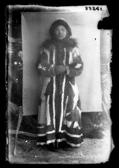 Yakutian woman, Siberia, 1900