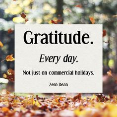 #Gratitude From the book series : Lessons Learned from The Path Less Traveled by #ZeroDean http://zerodean.com/book/