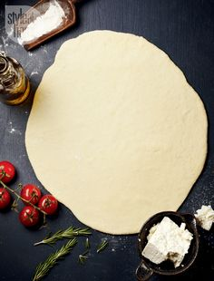 DIY Pizza Dough Recipe: Thin crust pizza dough {PHOTO: Maya Visnyei}
