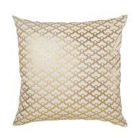 Gold Lotus Pillow