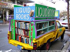 Free Books Truck in Monterey, California, 2006 © Linda N. (Photographer. Chicago, Illinois) via flickr.  Give credit where due.  COPYRIGHT LAW: http://pinterest.com/pin/86975836525792650/  REAL LIFE:  http://pinterest.com/pin/86975836525987875/  HOW TO FIND the ORIGINAL WEB SITE of an image: http://pinterest.com/pin/86975836525507659/