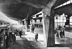 Katowice - Dworzec. Tak to kiedyś wyglądało