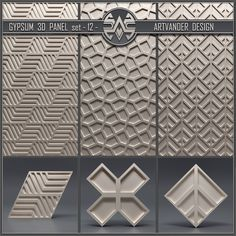 3d Wall Tiles, 3d Wall Panels, Tiles Texture, Ceramic Studio, Design System, Gypsum, Loft Design, Useful Life Hacks, 3 D