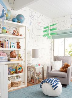 It's a gender neutral, animal/circus themed nursery for your viewing pleasure…
