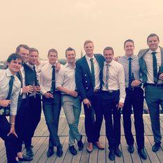 Wedding celebrating The Gwilts. Mates...... @jimmyg33 @armo_20 @samfisher25 @stevenbaker10 @brendongoddard09 @robeddy40