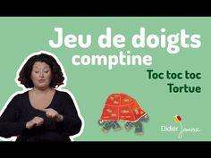 Toc toc toc Tortue - Comptine - Jeu de doigts - YouTube