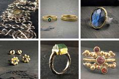 Sieraden in zilver en goud vaak gecombineerd met edelstenen. Alle sieraden zijn van eigen ontwerp en worden door Jeanet op ambachtelijke wijze met de hand gemaakt in haar atelier in Heemstede.Verzoek, vraag of informatie?