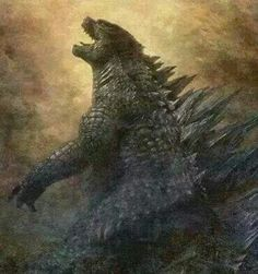 Epic Godzilla art!!!