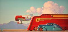 Mercury | Illustrator: Robert LaDuke - http://www.flickr.com/photos/14394050@N02