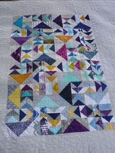 A Patch of Geese: A Finish | chezzetcook modern quilts | Bloglovin'