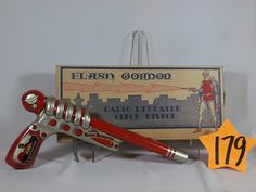 Circa 1939 Flash Gordon Radio Repeater Gun and Box
