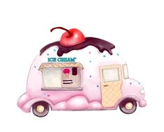 Use the form below to delete this For Sale Ice Cream Truck In Virginia image fro. - Anne - Beyond Binary Ice Cream Logo, Ice Cream Art, Food Drawing, Drawing For Kids, Art For Kids, Coffee Artwork, Food Clipart, Truck Art, Happy Birthday Images