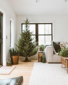 Braided Wool Rug – Parachute Home Merry Little Christmas, Cozy Christmas, Christmas Trees, White Christmas, Christmas Crafts, Norway Spruce Tree, Balsam Hill Trees, Alpine Tree, Parachute Home