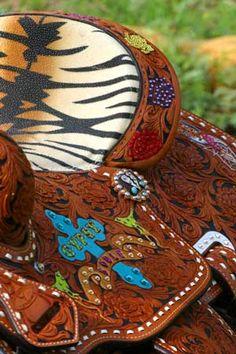 Gypsy Soule saddle <3 OHHEMMGEE,, WANT!