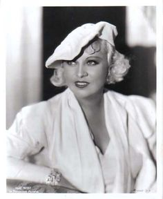 """Is that a gun in your pocket, or are you just glad to see me?"" Mae West"