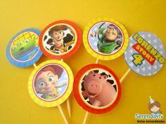 Topper - Toy Story Papelaria Personalizada - Serendipity Festas https://www.facebook.com/serendipity.festas