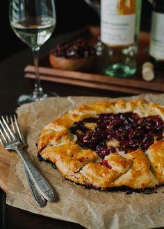 Cranberry Wine Galette
