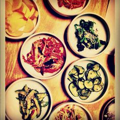 Korean side dishes are my favorite part of the meal!
