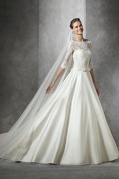 Modèle Toricela, Pronovias : Les plus belles robes de mariée 2016 - Journal des Femmes