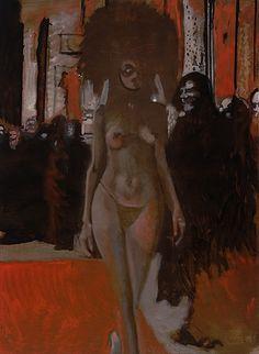 Hans Broek, Hieros Gamos, oil on linen, 200x150 cm