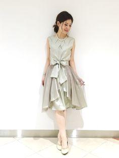 b7067851b6449 megmi(KATHARINE ROSS 難波店)|KATHARINE ROSSのドレスを使ったコーディネート