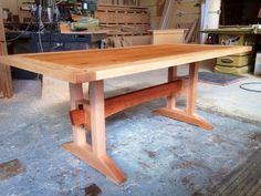 Craftsmen Trestle Table