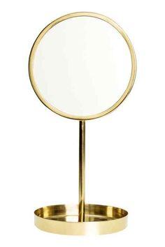Specchio rotondo da tavolo