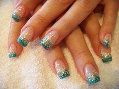 acrylic nail art and design