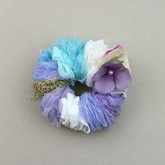 Joli Fleur(ジョリーフルール)Handmade シュシュ【PU】 - 神戸岡本の雑貨ムッティ、かわいい雑貨や生地がいっぱい