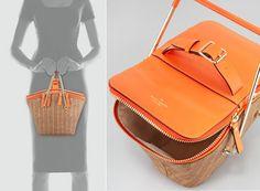 Kate Spade Pack-a-Picnic Picnic Basket, a playful reinterpretation of the classic picnic basket!