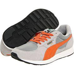Orange/grey Pumas