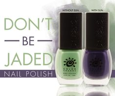 Del Sol Color-Change Nail Polish - Don't Be Jaded. Changes color in the sun!