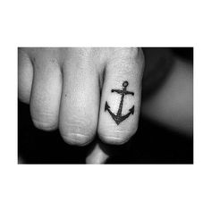 The anchor that survives the storm; ♥ ❤ liked on Polyvore featuring accessories, body art, tattoos and pictures