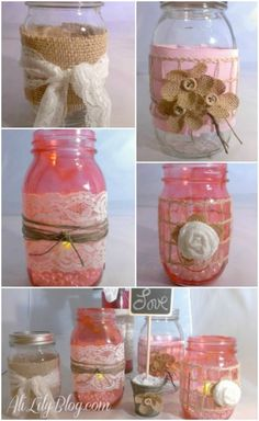 Decorate A Jar Garage Junk To Shabby Chic  Before And After Cath Kidston Style