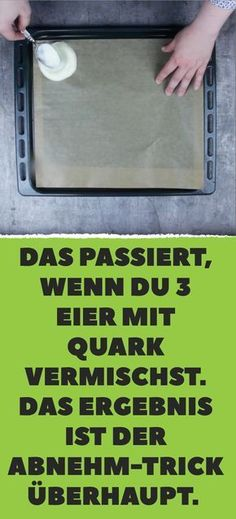Das passiert, wenn du 3 Eier mit Quark vermischst. Das Ergebnis ist der Abnehm-Trick überhaupt.