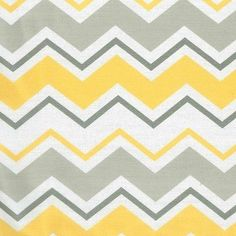 Trend Lab Changing Pad Covers - Grey & Yellow Zig Zag, Yelllow
