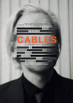 Guy Pearce: Cables Movie Poster. #design #typography Design  by http://freefacebookcovers.net
