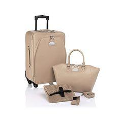Joy Mangano Carry-On Luggage Set with Handbag!