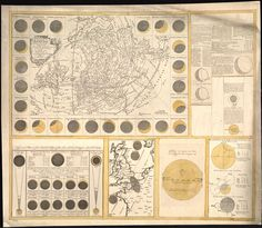 The geography of the great solar eclipse of July 14 MDCCXLVIII : exhibiting an accurate map of all parts of the Earth in which it will be visible, with the North Pole, according to the latest discoveries / Contributor Names Smith, George, 1700-1773. Subject Headings -  Northern Hemisphere -  Solar eclipses--1748  Item: http://loc.gov/item/2013593154