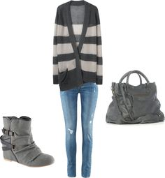 """Cozy casual"" by rprov on Polyvore"