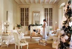 Home Shabby Home: Country Christmas inspirations #White / Casa Shabby Casa: Ispirazioni Natalizie in stile Country Shabby #Bianco