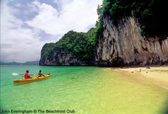 Koh Yao Noi, Phang Nga, Thailand. This pretty, isolated beach along the north of the island can only be accessed from the water.