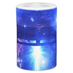 Iridescent Pathway to Anywhere Soap Dispenser And Toothbrush Holder