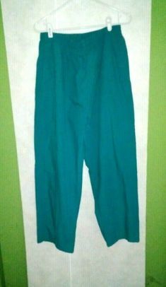These are am aqua green pair of scrub pants. Cherokee Scrubs, Womens Scrubs, Scrub Sets, Cottage Chic, Cargo Pants, Primitive, Aqua, Shabby, Rustic