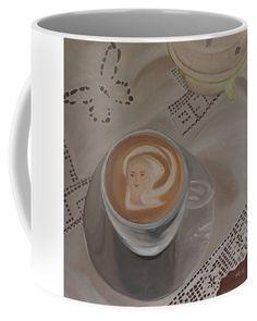 Art coffee Coffee Mug by Ildiko Mecseri. Mugs For Sale, Fine Art America, Dishwasher, Coffee Mugs, Ceramics, Tableware, Gifts, Hall Pottery, Presents