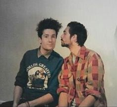 Dan Smith of Bastille, about to get kissed by Kyle Simmons, in a button down and his World's Greatest Grandpa sweatshirt, with messy hair, making a face Kyle Simmons, Dan Smith, Bad Blood, Bastille, Thalia, Messy Hairstyles, Cool Bands, Celebrity Crush, Pretty Boys