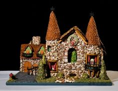 Photos of the National Gingerbread House Competition: Gingerbread - First Place Winning Entry - 2008 Teen Category