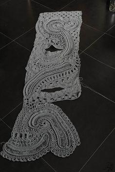 花叉披肩(来自网路) - miylo - 玩转毛线编织